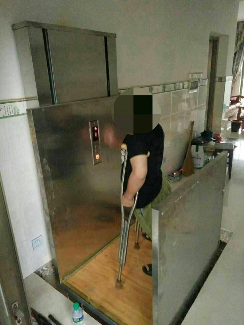 广安【jlvl/y-0.5无障碍家用电梯】安全稳固