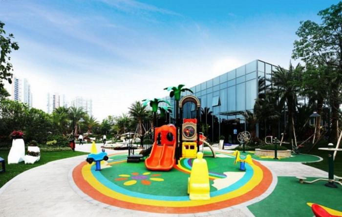 8公里社区跑道,两个双语幼儿园,政府公办小学资源规划落实中,1.