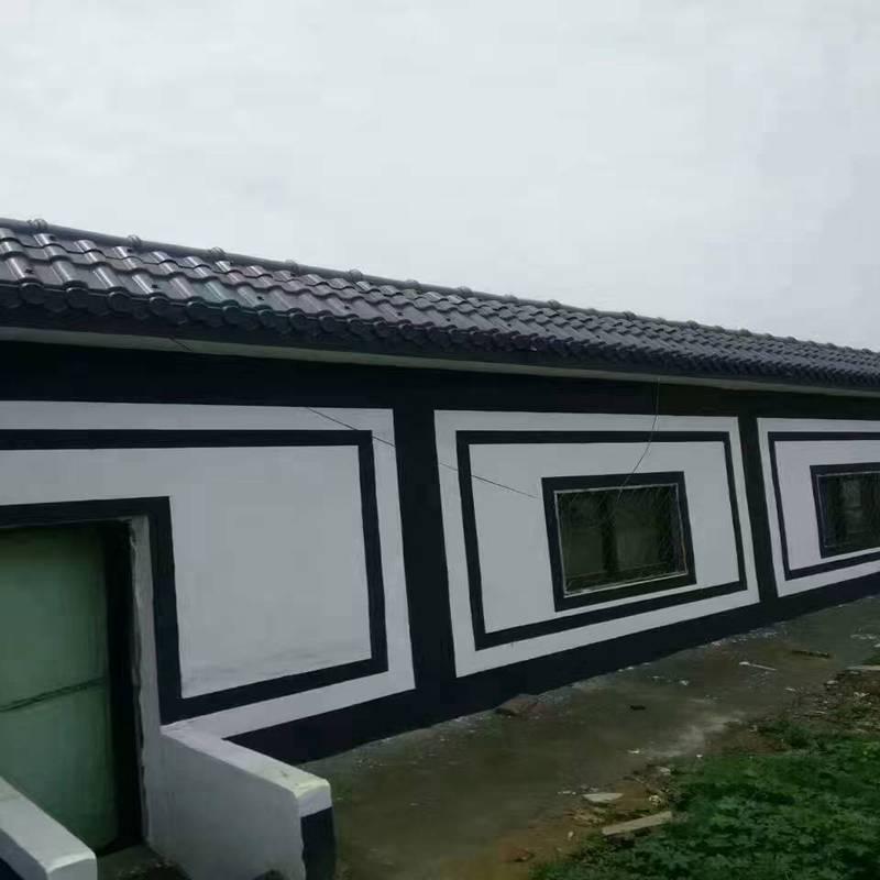 合成树脂瓦主要用于园林建筑和建筑的屋面或墙瓦.