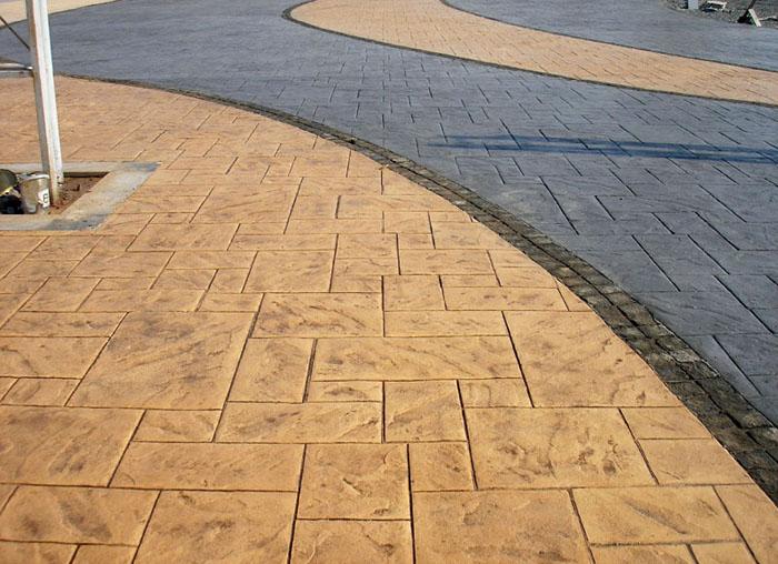 重庆压膜地坪价格当地材料厂家-晶美地坪