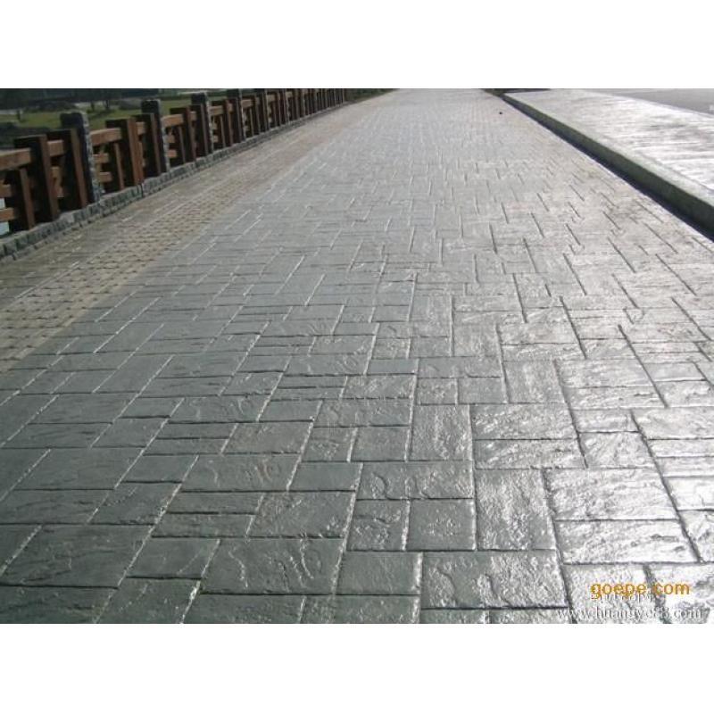 重庆艺术压膜地坪模具免费提供-晶美地坪