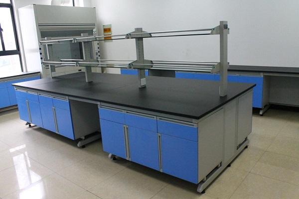 内蒙古包头固阳实验台规格钢木边实验台介绍